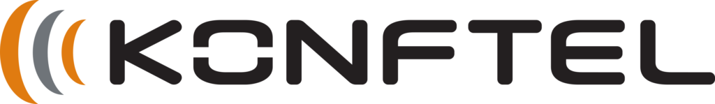 Konftel, logotyp.