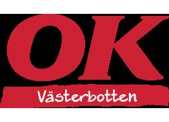 OK Västerbotten, logotyp.